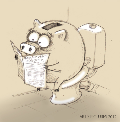 Картинки по запросу свинья копилка карикатура